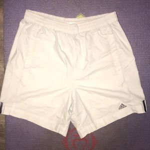 ❤️ Adidas White Classic Fit Swim Trunks ❤️